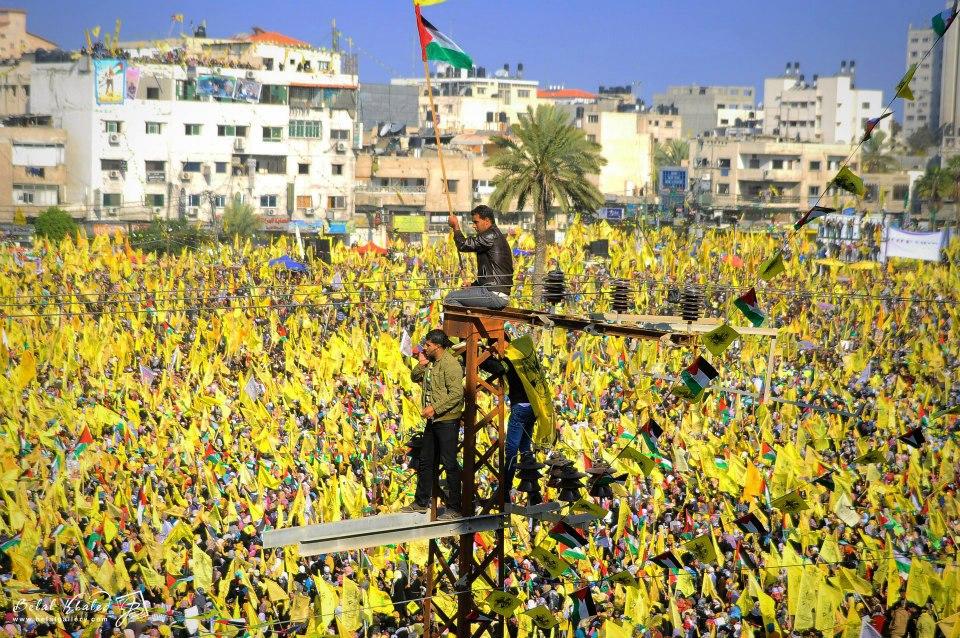 Manifestation du Fatah à Gaza - 4 Janvier 2013