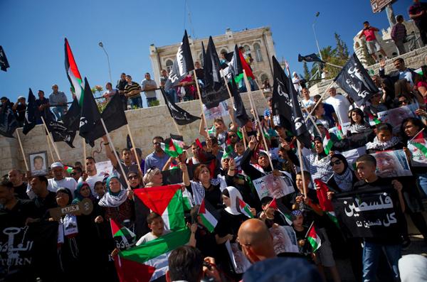Manifestation pour la commémoration de la Naqba