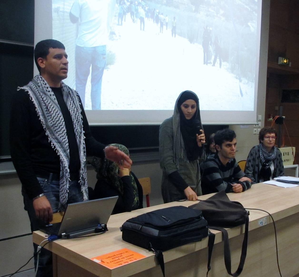 Avoir 20 ans en Palestine _- Université d'Evry