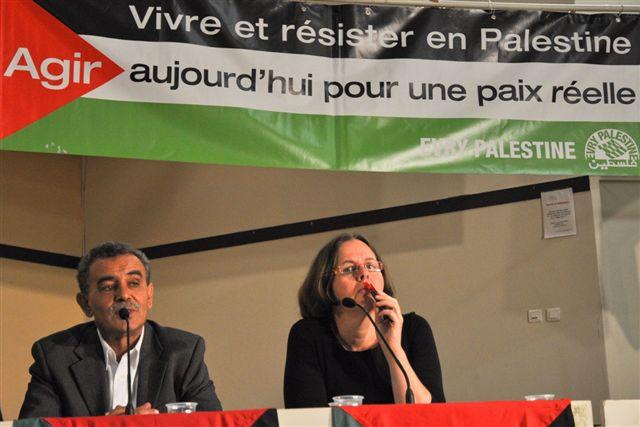 amal Zahalka et Yaël Lerer