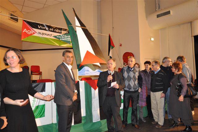 """lancement de l'opération """"un bateau français pour Gaza"""""""